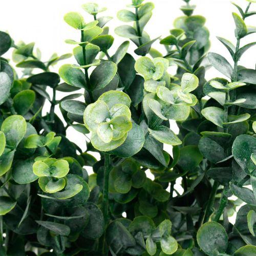 Deko-Eukalyptuszweig Dunkelgrün Künstlicher Eukalyptus Künstliche Grünpflanzen