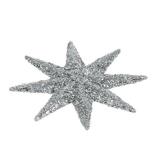 Deko-Sterne Silber Ø5cm 20St