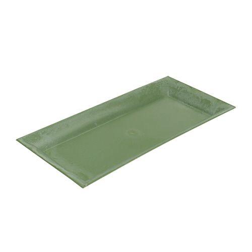 Deko-Tablett Grün 28cm x 12cm