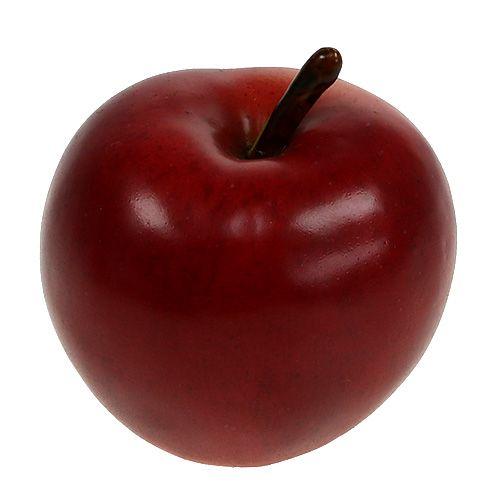 Deko Apfel Rot matt 8cm 1St