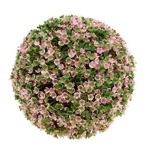 deko kugel rosa gr n 20cm preiswert online kaufen. Black Bedroom Furniture Sets. Home Design Ideas