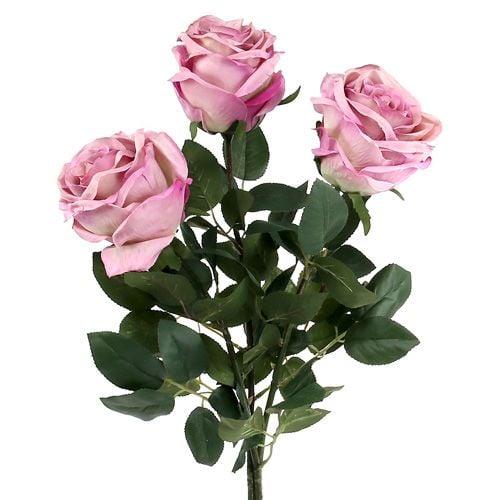 deko rose gef llt altrosa 10cm l65cm 3st preiswert online kaufen. Black Bedroom Furniture Sets. Home Design Ideas