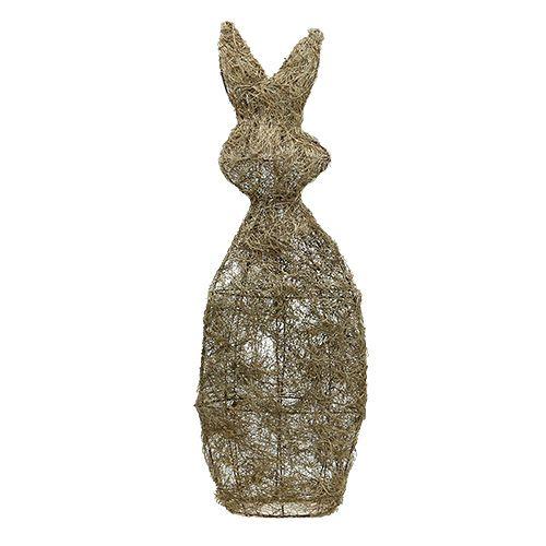 Deko Hase aus Rebe Natur 80cm 1St