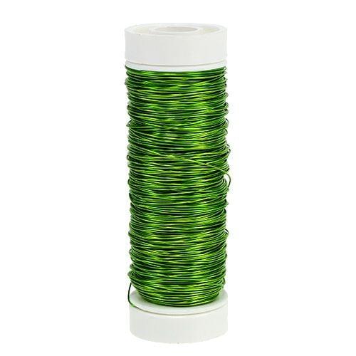 Dekolackdraht Ø0,30mm 30g 50m Apfelgrün
