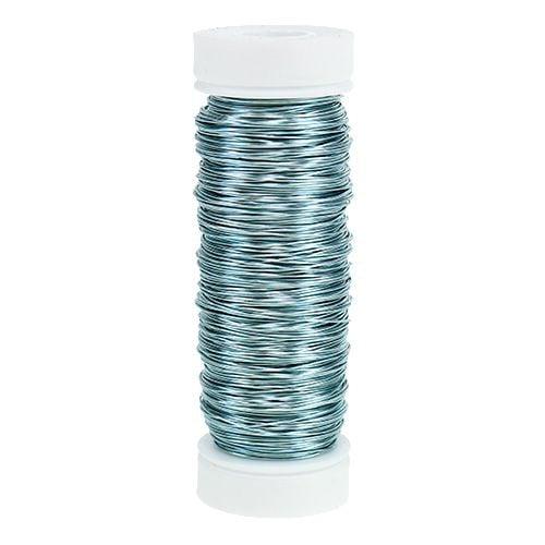 Dekolackdraht Ø0,30mm 30g/50m Eisblau
