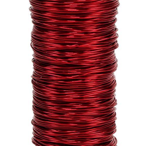 Dekolackdraht Ø0,30mm 30g/50m Rot