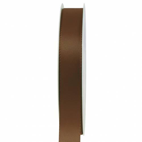 Geschenk- und Dekorationsband Braun 15mm x 50m