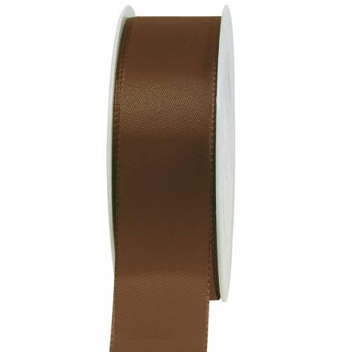 Geschenk- und Dekorationsband Braun 50m