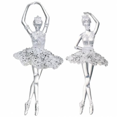 Dekohänger Christbaumschmuck Ballerina 18cm 2St