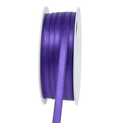 Geschenk- und Dekorationsband 6mm 50m lila