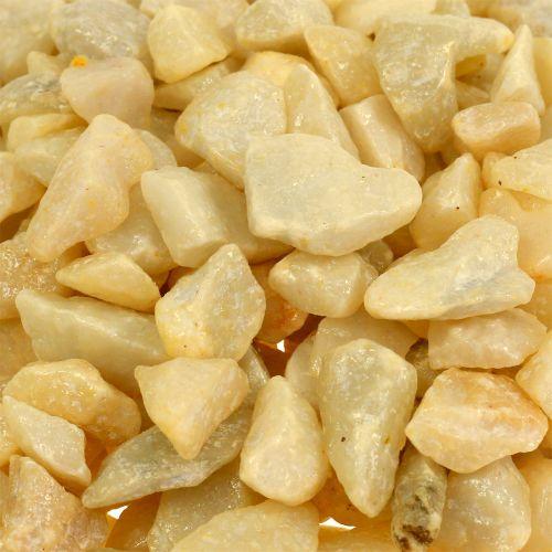 Glassteine abgerundete Steichchen aus Glas 30 Stück ca Colour Pebbles