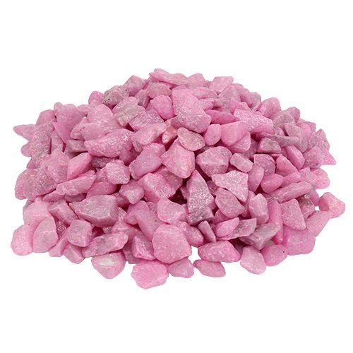 Dekosteine 9mm - 13mm Pink 2kg