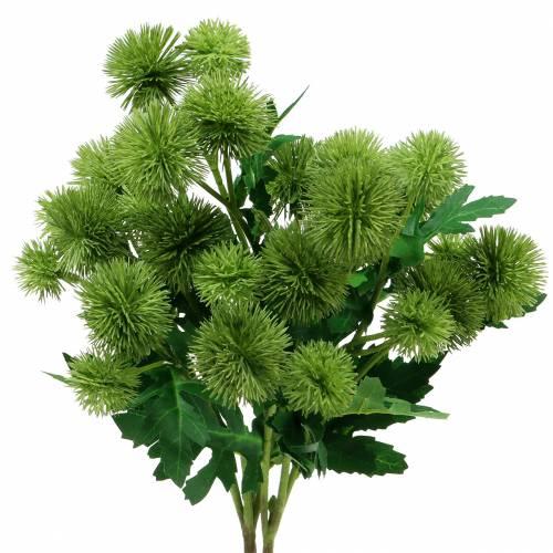 Distel Seidenblume Grün 56cm 3St