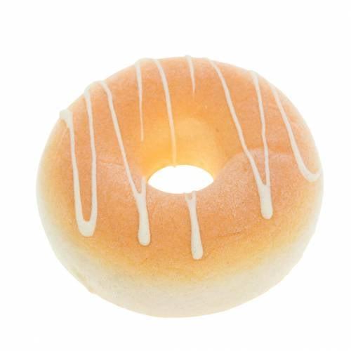 Deko-Donut Creme künstlich Ø8cm