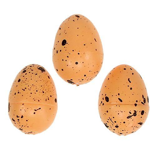Ei aus Styropor Orange 3,5cm 24St