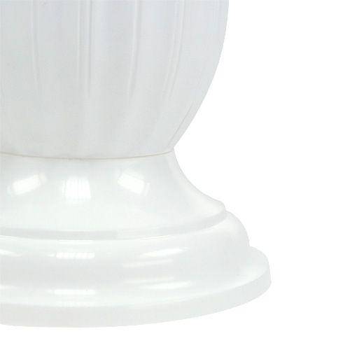 Einstellvase Lilia weiß Ø23cm, 1St
