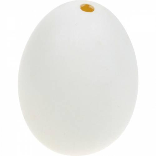 Enteneier Natur Ausgeblasene Eier Osterdeko 12St