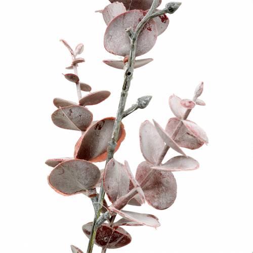 Eukalyptuszweig künstlich Burgundy 55cm