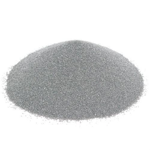 Farbsand 0,5mm Silber 2kg