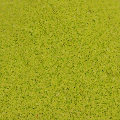 Farbsand 0,1mm - 0,5mm Apfelgrün 2kg