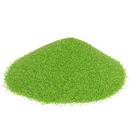 Farbsand 0,1mm - 0,5mm Grün 2kg