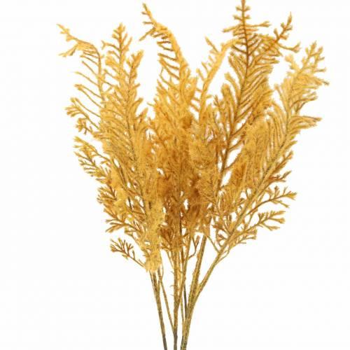Künstlicher Farn Herbstfarben 72cm 4St