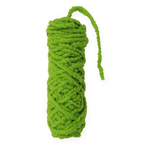 Filzkordel Flausch Mirabell 25m Grün