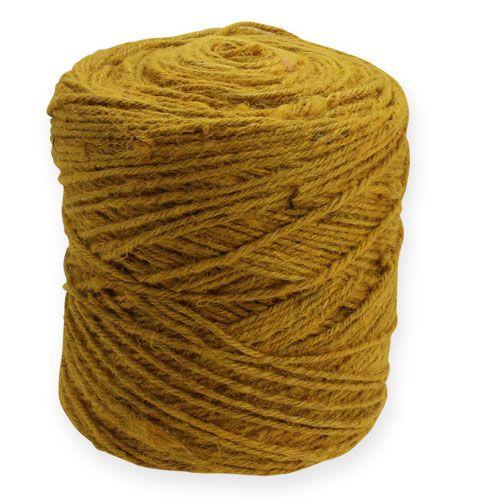 Deko-Schnur Gelb 3,5mm 470m