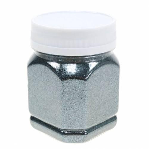 Deko-Glitzer Anthrazit 115g Glitter zum Basteln