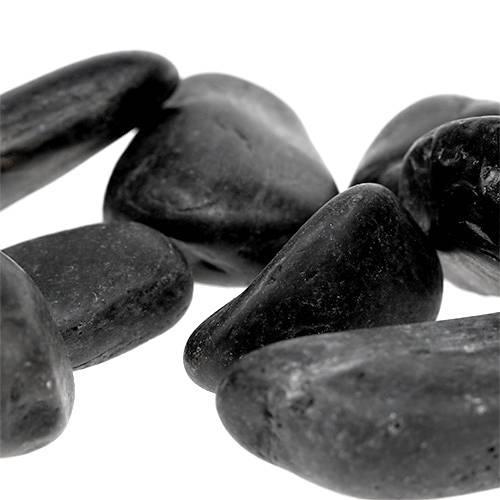 Flusskiesel Schwarz 20mm - 40mm 5kg