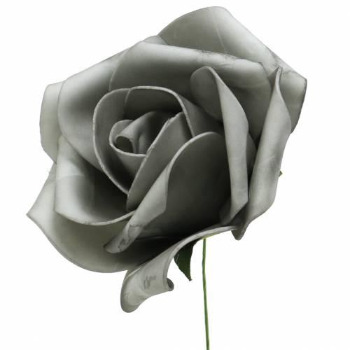 Foam Rose Grau Ø15cm 4St