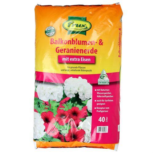 FRUX Balkonblumen- und Geranienerde 40l