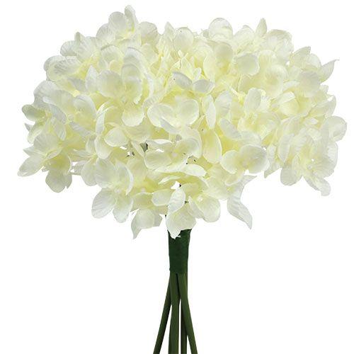 hortensienbund kunstblumen wei l25cm preiswert online kaufen. Black Bedroom Furniture Sets. Home Design Ideas