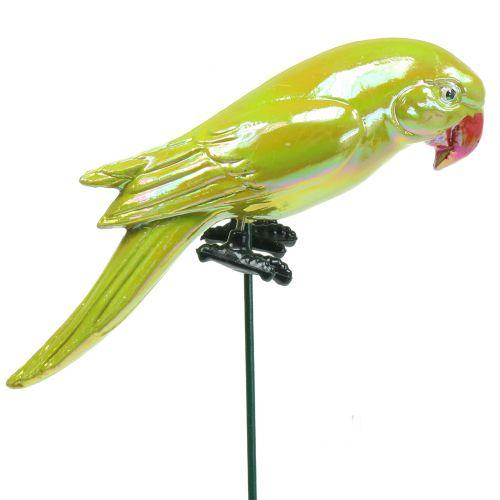 Gartenstecker Papagei Gelb 16cm
