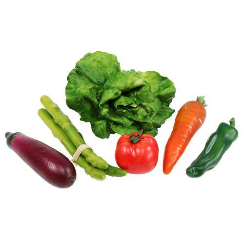 Gemüse Sortiment im Netz