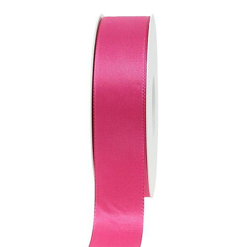 Geschenk- und Dekorationsband 25mm x 50m Pink