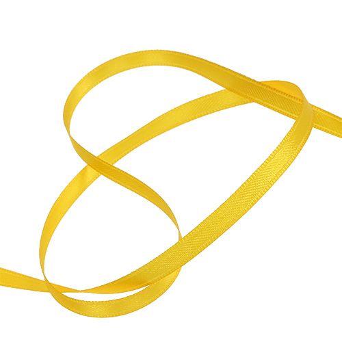 Geschenkband Gelb 6mm x 50m