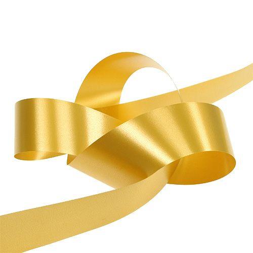 Geschenkband Gold 50mm 100m