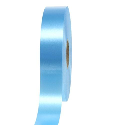 Geschenkband Hellblau 30mm 100m