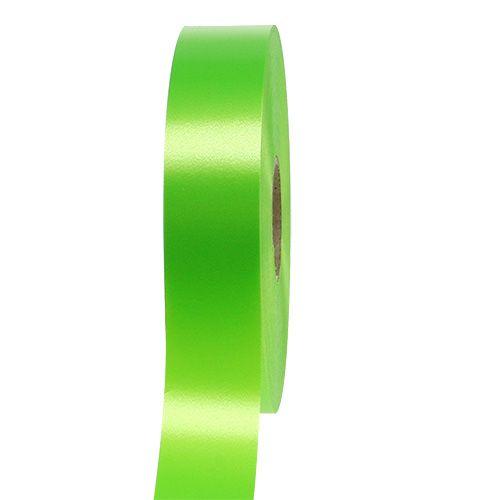 Geschenkband Lindgrün 30mm 100m
