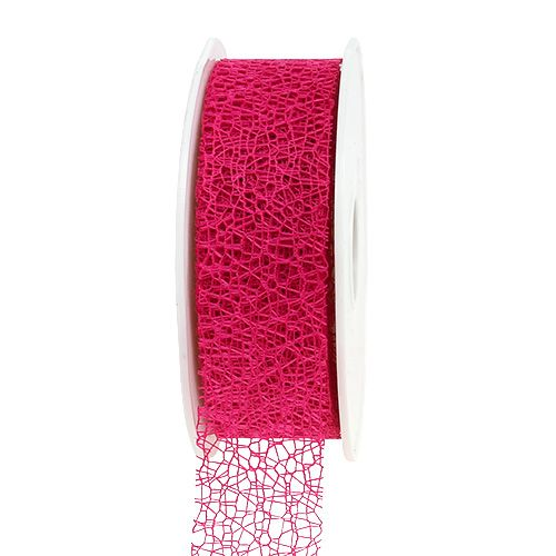 Geschenkband in Pink 3cm, 10m