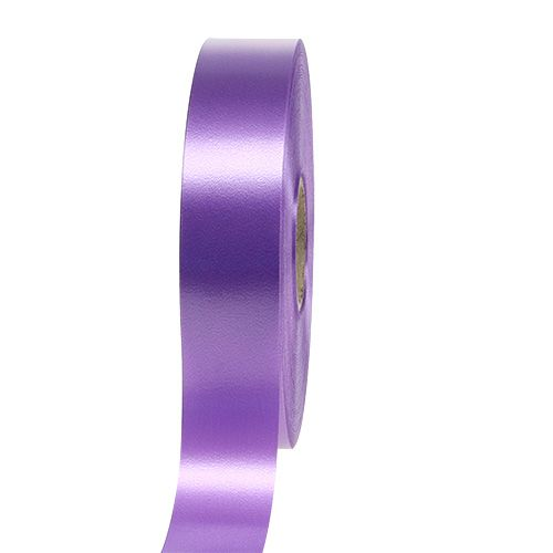 Geschenkband Violett 30mm 100m