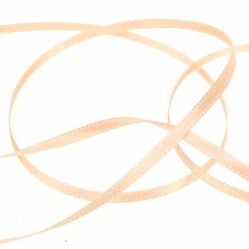Geschenk- und Dekorationsband Lachs 3mm 50m