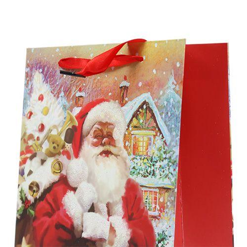 Geschenktüte Nikolaus 24cm x 18cm x 8cm