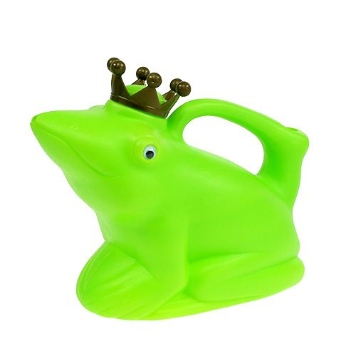 Gießkanne Froschkönig Grün 1,7l