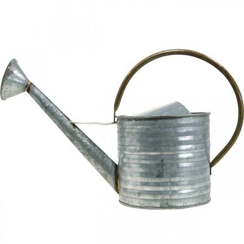 Gießkanne Metall Antik Optik 52×20×33cm