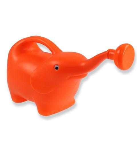 Gießkanne Elefant Orange