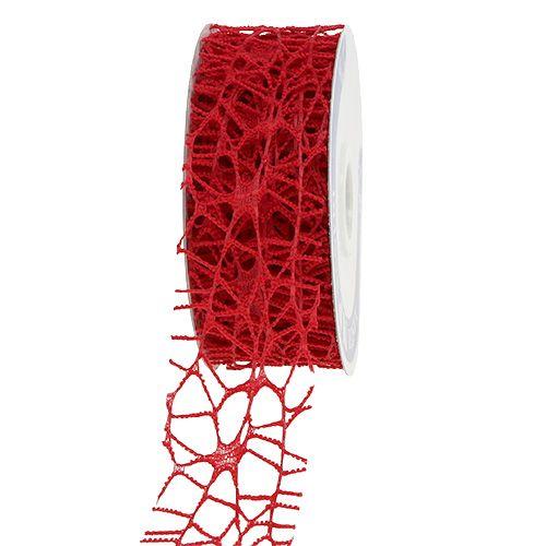 Gitterband Rot 40mm 10m