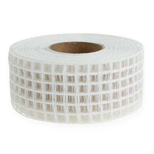 Gitterband 4,5cmx10m weiß