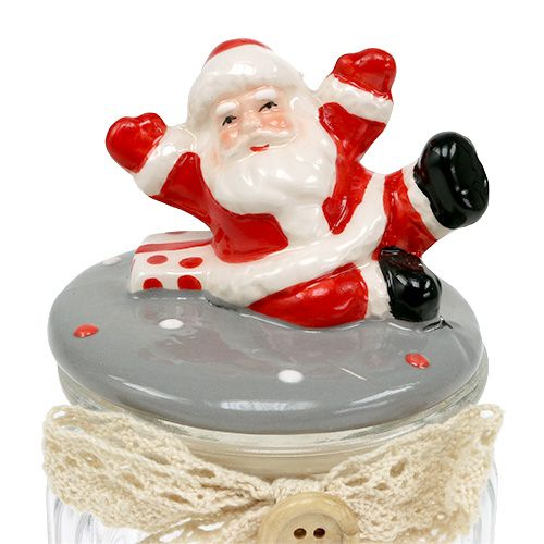 glasdose mit deckel santa 7 5cm h15cm preiswert online kaufen. Black Bedroom Furniture Sets. Home Design Ideas
